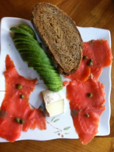 Lox & Avocado; Healthy REcipes by Dr. Scopelliti